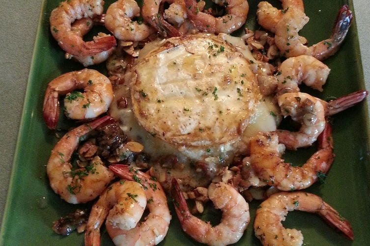Sauteed Brie and Shrimp