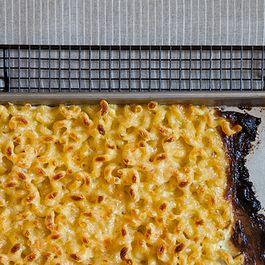 Baking Sheet Macaroni and Cheese