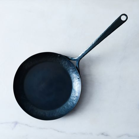 Hand-Forged Carbon Steel Sauté Pan