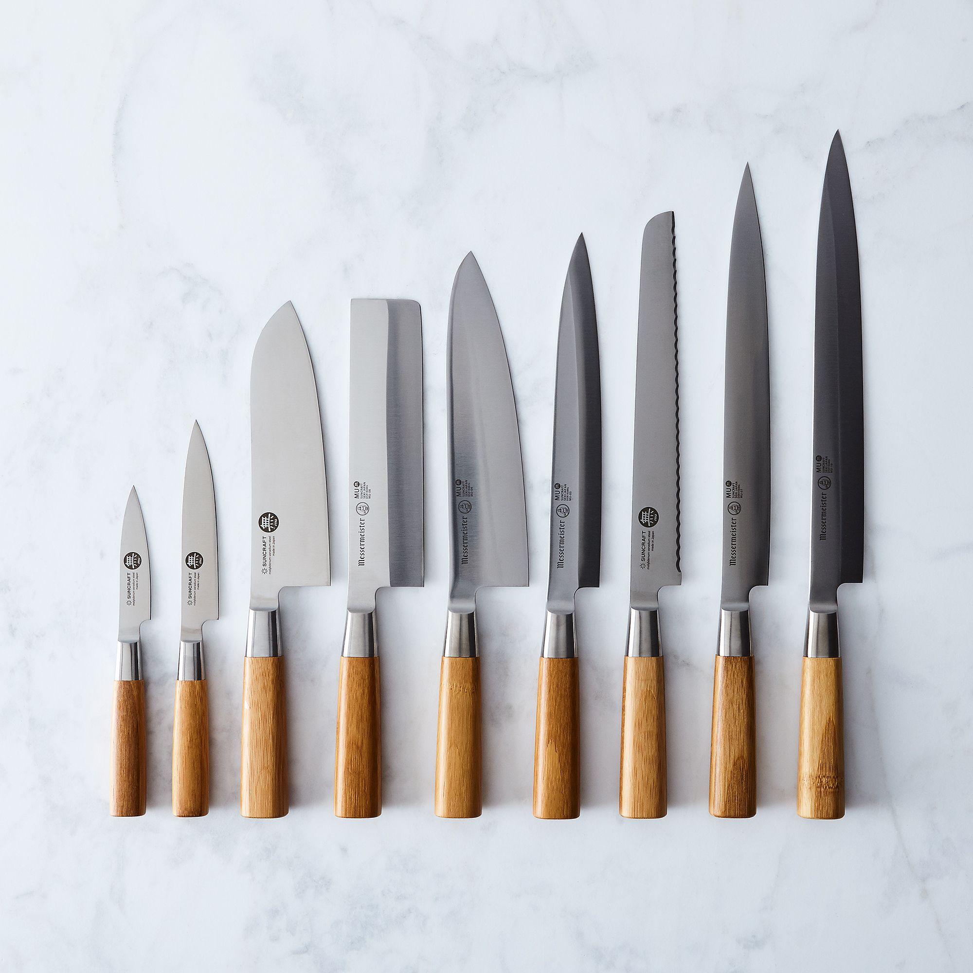 Mu Bamboo Japanese Steel Knives on Food52