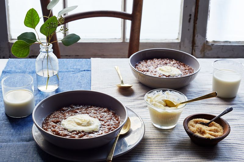 Champorado (Filipino Rice Porridge with Dark Chocolate)