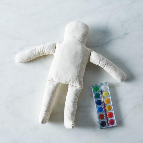 DIY Watercolor Cotton Doll