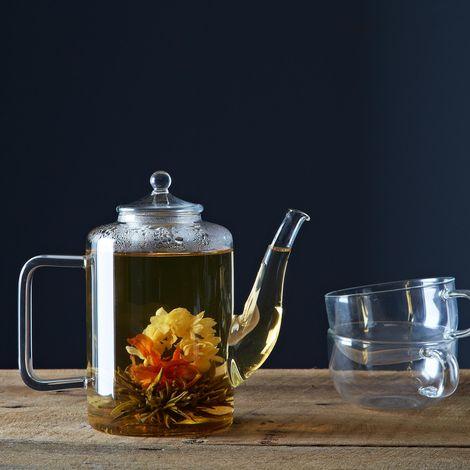 Medley +  Noir Blooming Tea Set