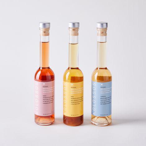 Greek Organic Wine Vinegar Trio