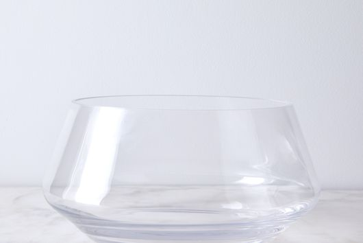 Modern Crystal Punch Bowl