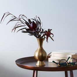 Food52 Vintage-Inspired Large Brass Bud Vase