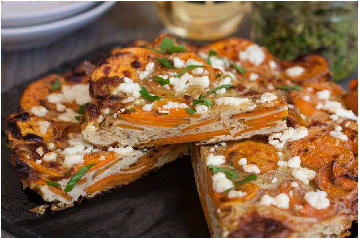 Sweet Potato Tortilla