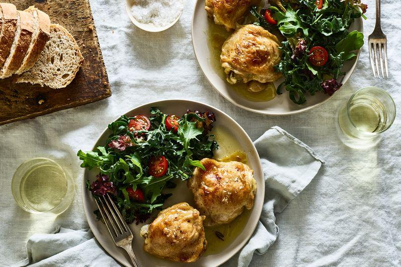 Shaheen Peerbhai & Jennie Levitt's Cold-Oven Roast Chicken