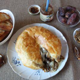 Brie En Croute stuffed with Date Jam