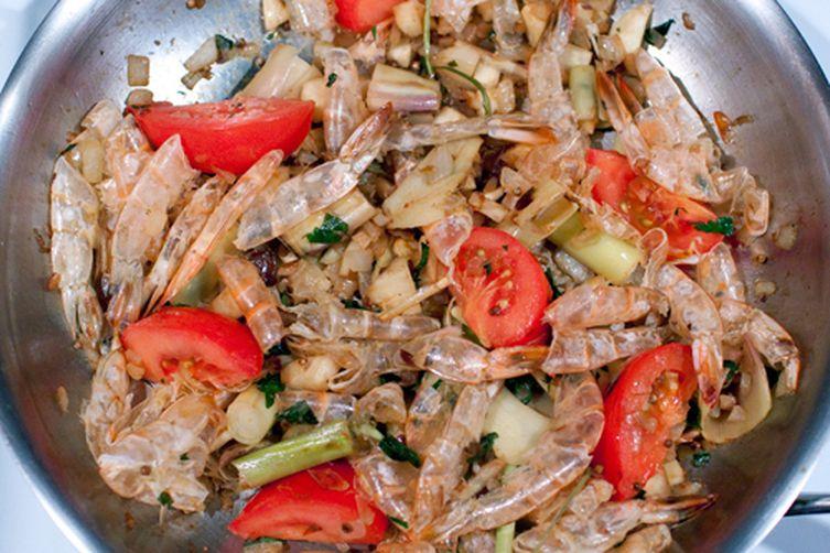 Spicy Shrimp in Thai Fusion Broth
