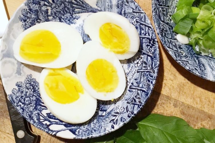 The Best Hard Boiled Eggs