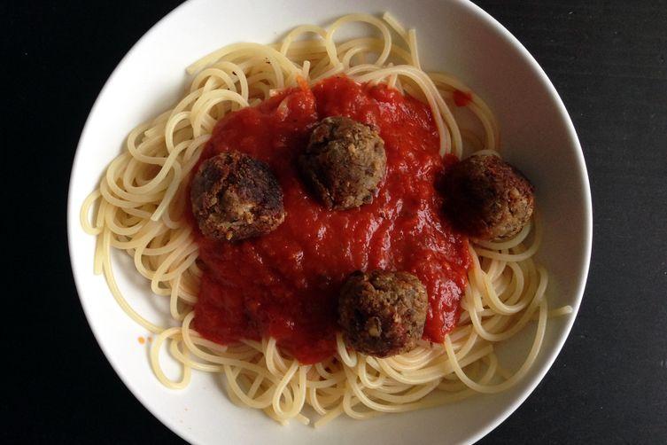 Zesty Italian Vegan Meatballs