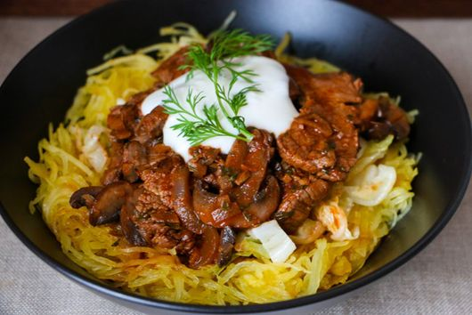 Hungarian Beef and Mushrooms