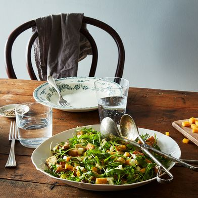 A Take-to-Work Winter Salad Starring Brussels Sprouts, Apples, & Cheese