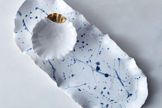 Handmade Splatter Wabi Sabi Serveware