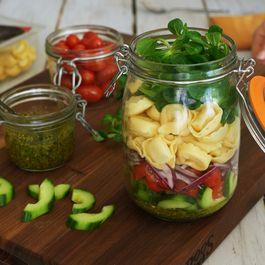 Tortellini Salad in a Jar