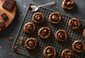 Just When We Thought Gingerbread Cookies Couldn't Get Better, We Doused 'Em In Chocolate