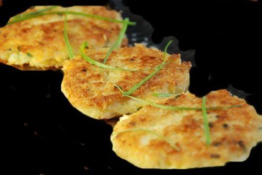 Butternut Squash Polenta Cakes
