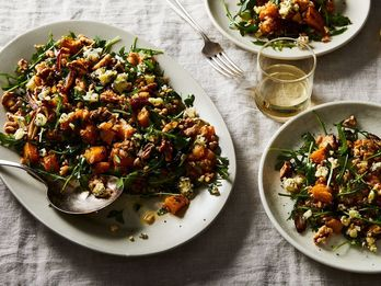 A Funky, Nutty Salad (for When You're Bored of Salads)
