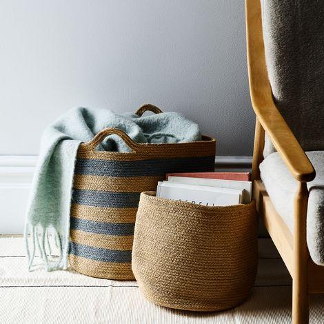 Handwoven Jute Basket