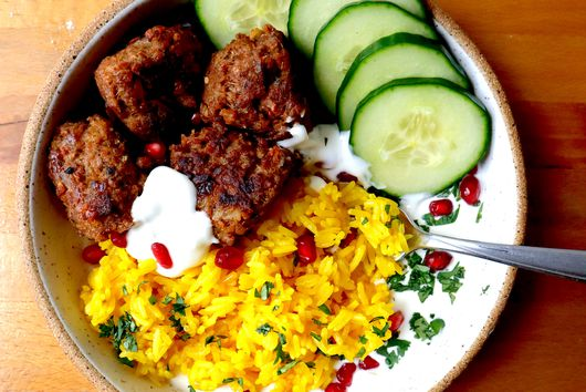 Lamb Meatballs with Whipped Feta