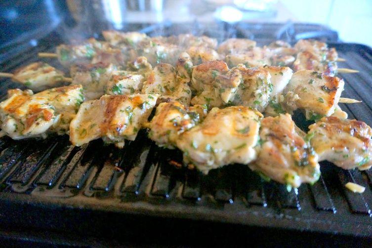 Chicken Souvlaki Pita