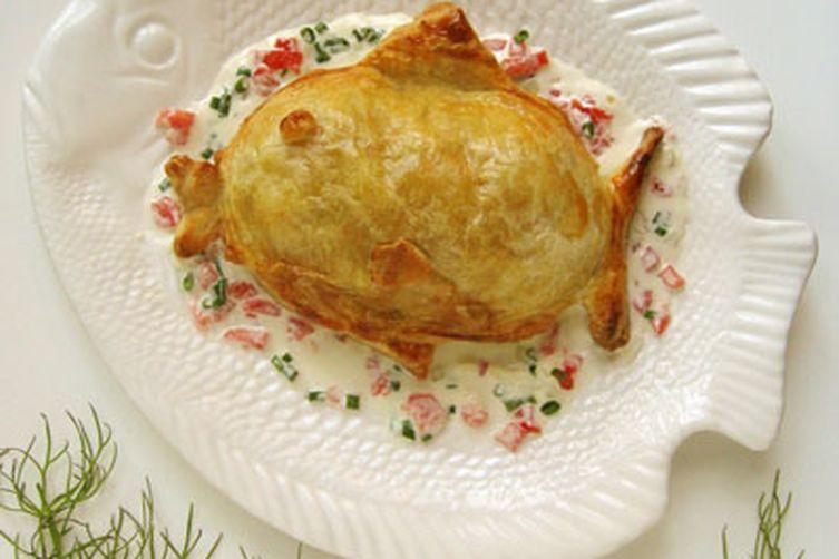 Salmon Loaf en Croûte