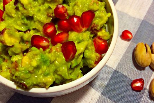 Green goodness- my favorite guacamole