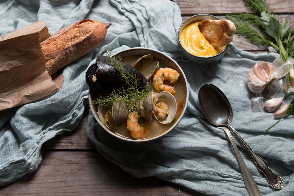 How to Make Bouillabaisse by Jessica Bride