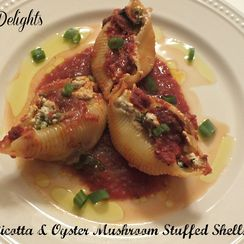 Romano Jumbo Stuffed Ricotta & Cream Cheese Shells