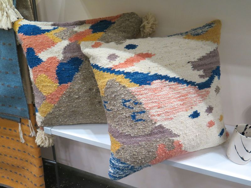 Could these pillows have more of our favorite colors in one pattern? They could not.