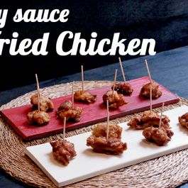 Soy sauce Fried Chicken