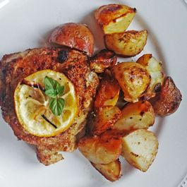 Gaddina Limuni Sicilianu (Sicilian Lemon Chicken)