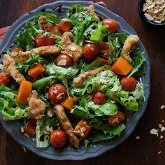 Summer Chicken Goujon Salad