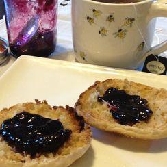 Simple Concord Grape Jam