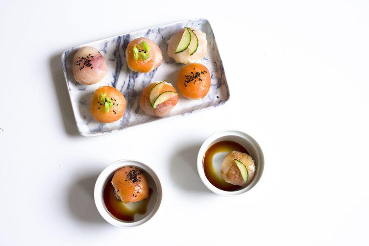 Temari Sushi Balls