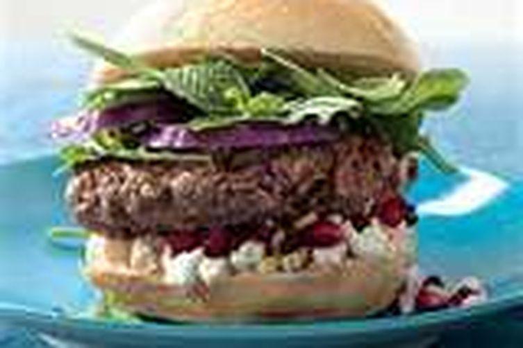 Meat-a-terranean Burgers