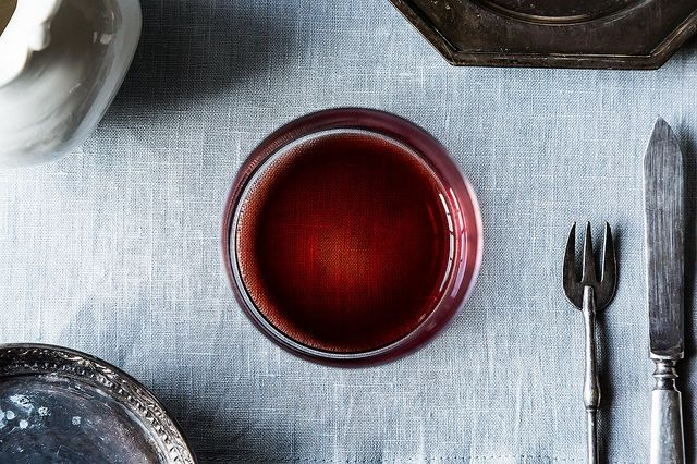 spiced red wine