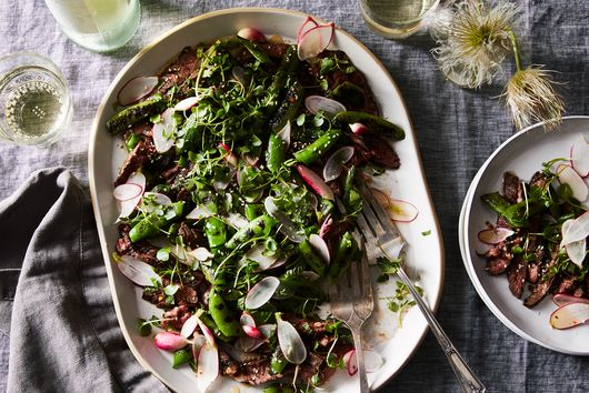Grilled Steak Salad With Fish Sauce Vinaigrette