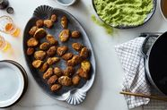 Fried Pickles with Herb Breadcrumbs