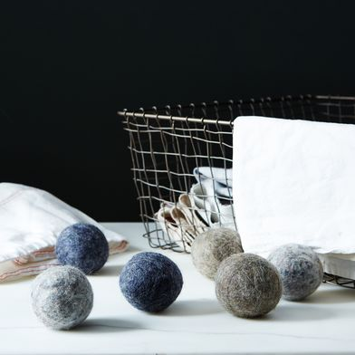 Handmade Wool Dryer Balls (Set of 6)