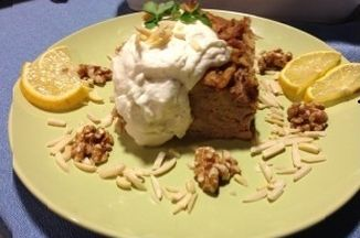 304aecab 05eb 4b91 954c 6694b7c3b5b6  my original bakalava bread pudding with lemon honey whipped cream