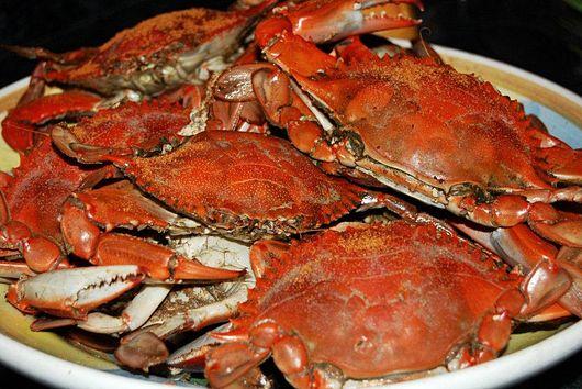Favorite Festival Steamed Crabs