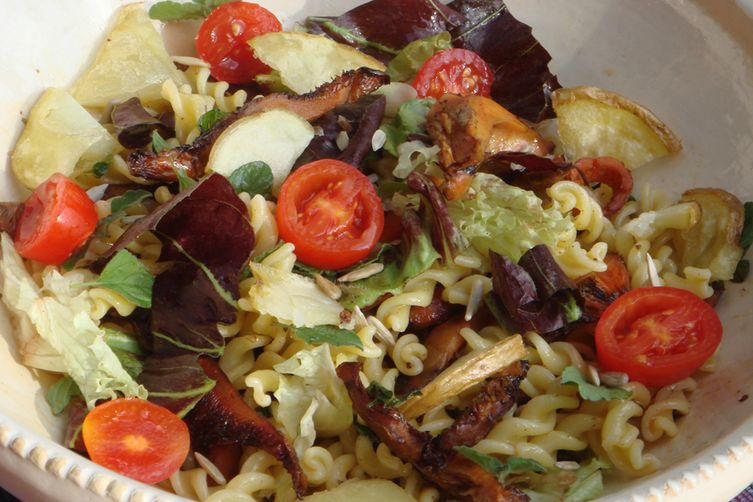 Tuscan Olive Harvest Autumn Salad