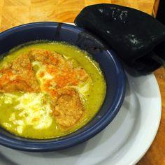 Poblano soup