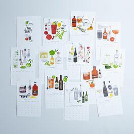 2015 Cocktail Recipe Calendar