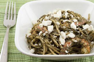 D5a5e50d 954a 4f5c b821 8608f4aa882b  spinach sauce pasta with shrimp