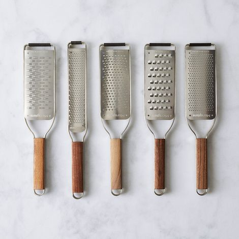 Microplane Master Series Grater with Walnut Handle