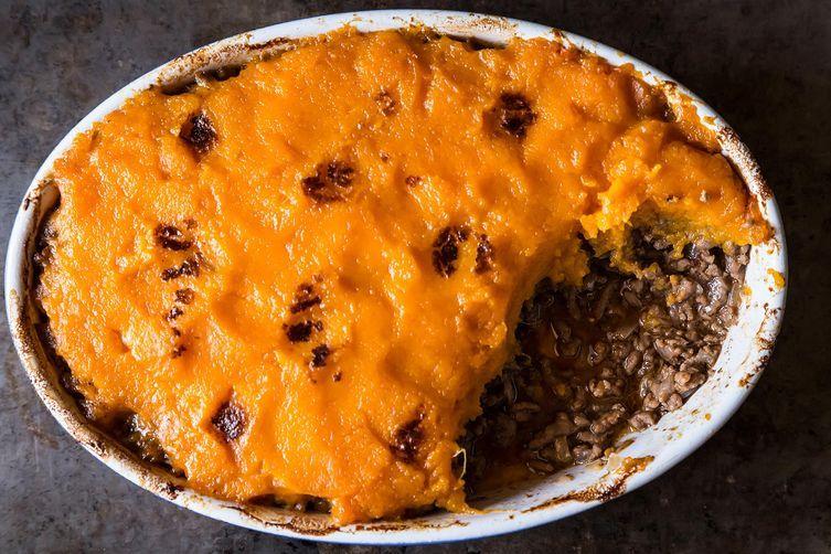 Shepherd's Pie with Sweet Potatoes