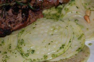 Cec56747 561b 4c25 b04e c04967f9d794  fresh pea pesto corzetti